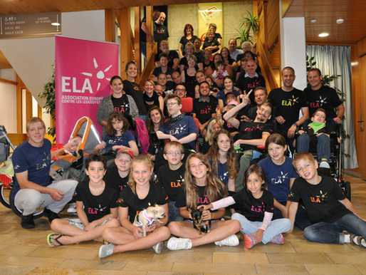 Marraine pour l'association ELA  |  Become sponsor for the association ELA
