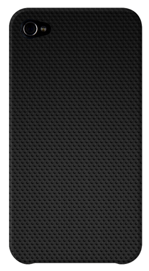 Black iPhone Cover