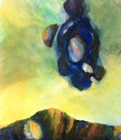 Pilgrim child, 2016, acrylic on canvas,