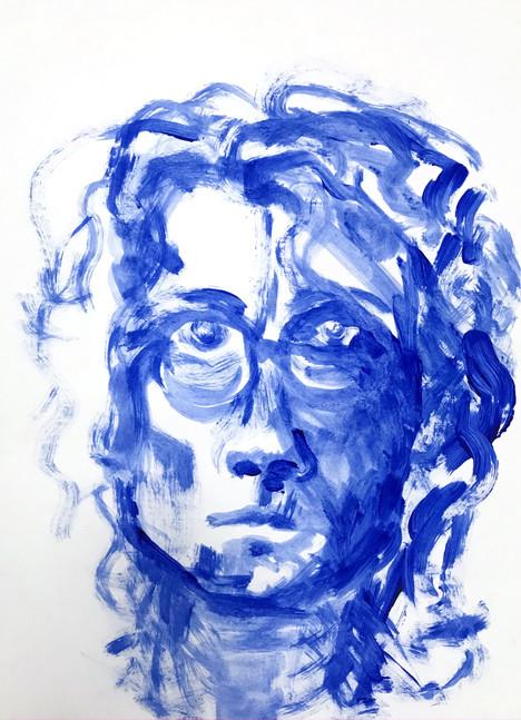 Blue question, 2016
