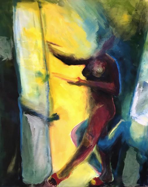 Dancing painter, 2019