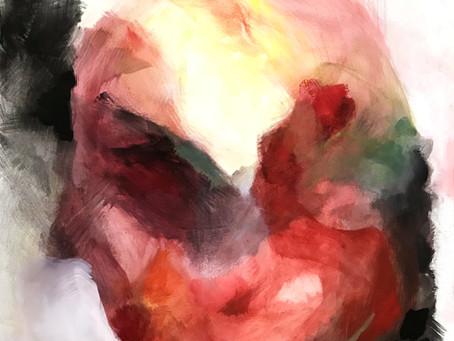 Fünf abstrakte Köpfe