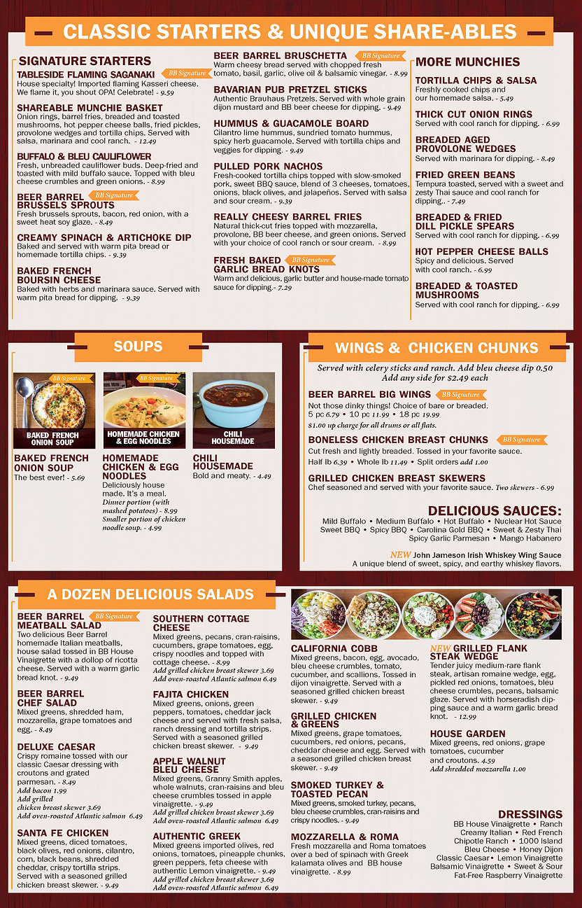 Small Market Food Menu Rev 9.10.2020 - M