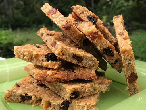 """RECEPT - ENERGY BARS a la """"what you GOT in your STORAGE""""!"""
