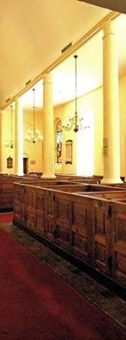 Interior of Prince George Winyah Parish