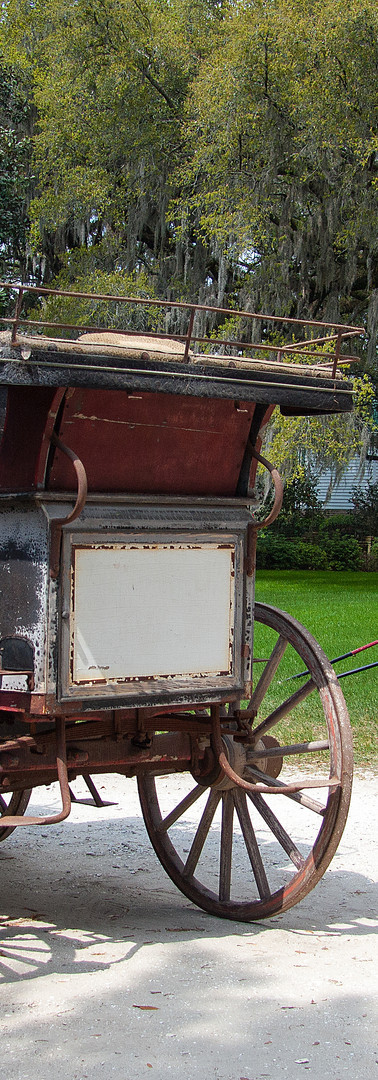 Antique Wagon at Arcadia Plantation
