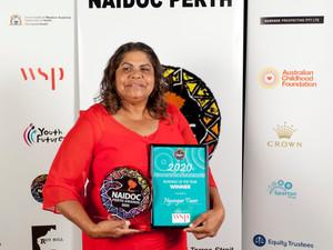 NAIDOC Award for Aglow Friend