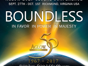 Aglow International Conference - Boundless in favour, in Power, in Majesty