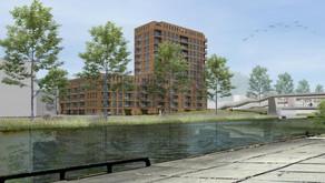 Plan voor nieuwbouw sociale huurappartementen aan Korreweg