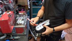 Drukte bij schoenmaker: 'We slijpen wel 50 tot 60 schaatsen per dag