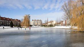 Winter in de Korrewegwijk