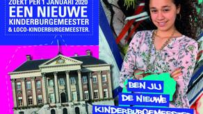 Zesde- en zevendegroepers kunnen solliciteren op vacature kinderburgemeester