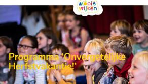 Herfstvakantie in De Hoogte en Korrewegwijk: chillen, springen, knutselen en kickboksen