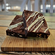 White Choc Brownie