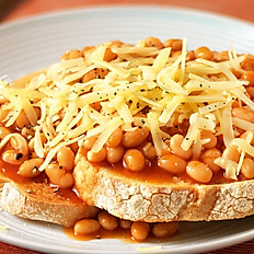 Cheese & Beans on Toast