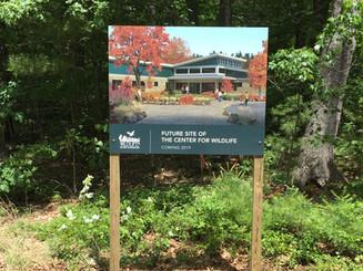 Center For Wildlife Sign