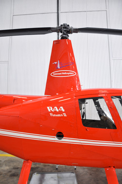 Cut Vinyl Lettering for fleet of helicopters.