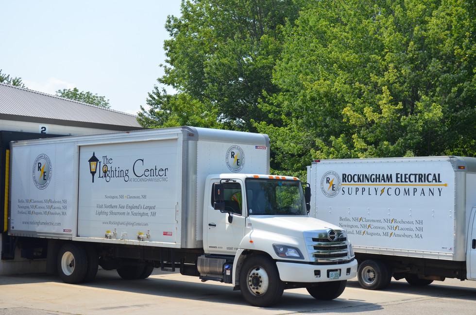 Rockingham Electric Delivery Trucks.JPG
