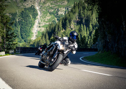 Sustenpass mit dem Motorrad