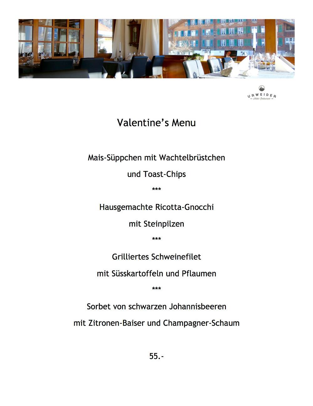 Hotel Restaurant Urweider im Berner Oberland