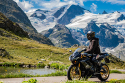 Motorradtour in den Alpenpässen