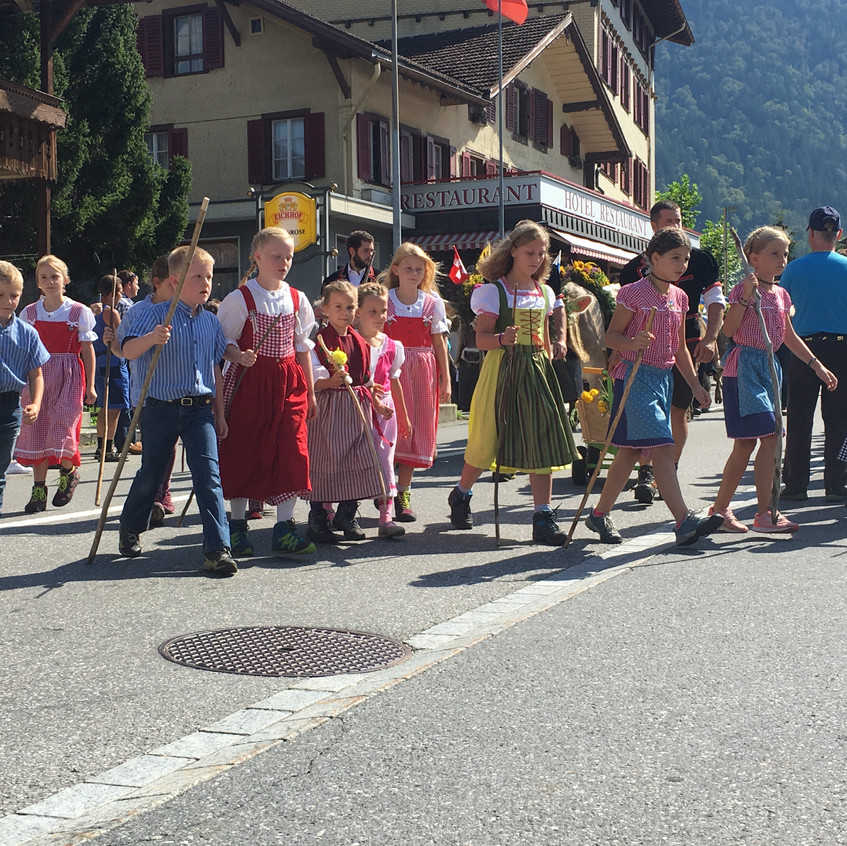Alpabfahrt Innertkirchen
