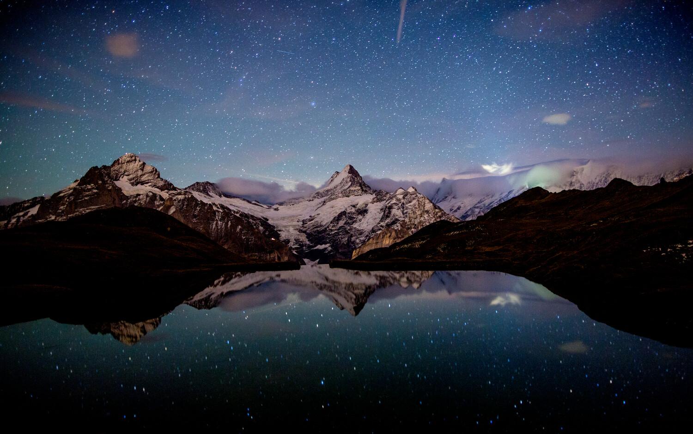 Bachalpsee Nacht Bildquelle: Jungfra