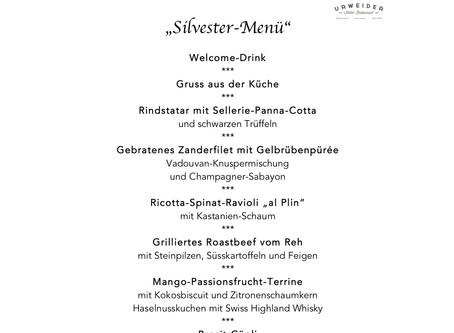 Silvester Abend im Restaurant Urweider Innertkirchen