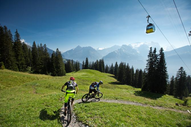 Sommersaisonstart Bergbahnen Meiringen Hasliberg