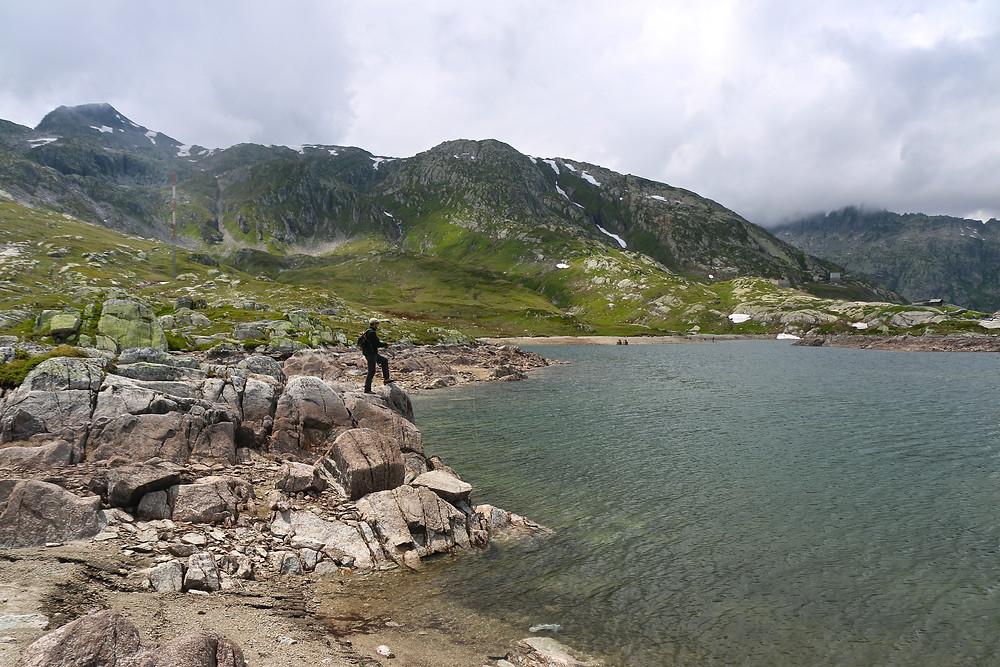 Mit der Trockenfliege am Bergsee
