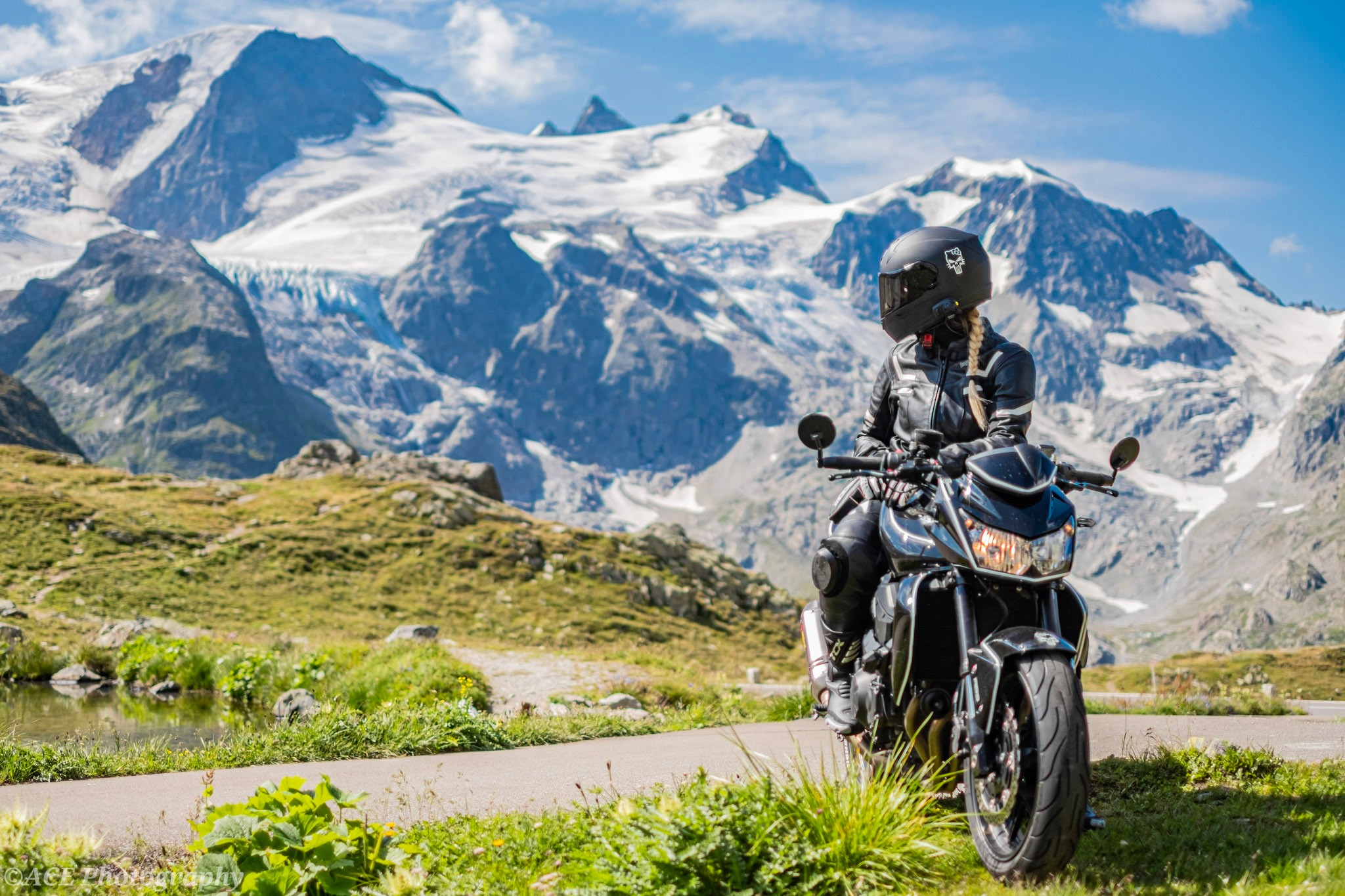 Alpenpässe mit dem Motorrad