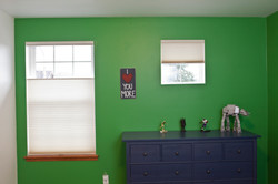 Green room, great blinds