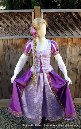 Rapunzel Tangled Romantic Version Adult Costume