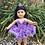 Thumbnail: Doll Crown - Jeweled Tiara Comb