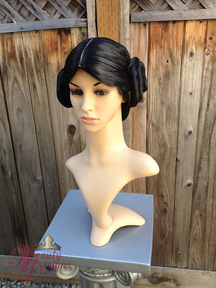 Princess Leia Rebel Alliance Inspired Movie Wig