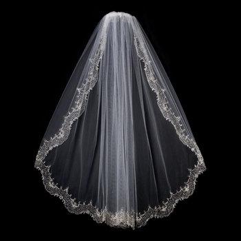 Jasmine's Shimmering Bridal Veil