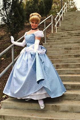 Cinderella 2012 New Park Swirl Gown White Sleeves