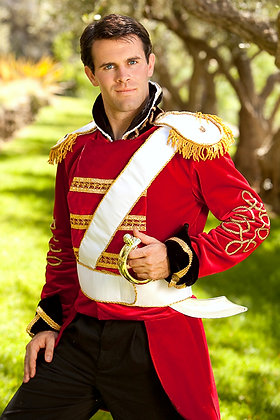 Prince Charming Toy Soldier Adult Men's Costume