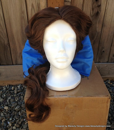 Belle Town Wig with Bow
