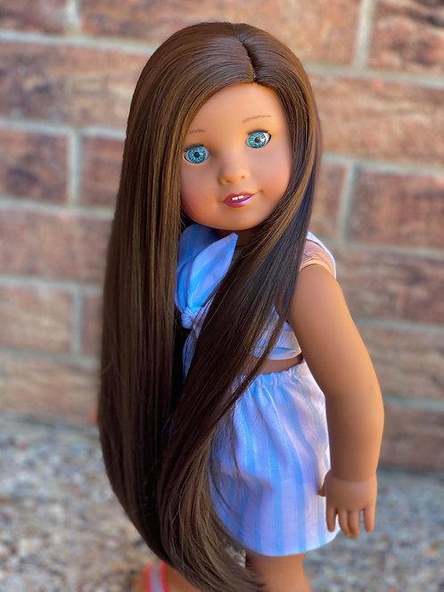 "Willow in Dark Chocolate 11"""