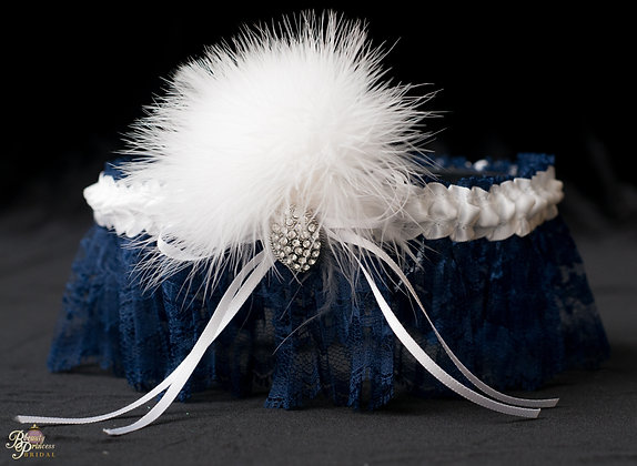 Bluebird Inspired Garter