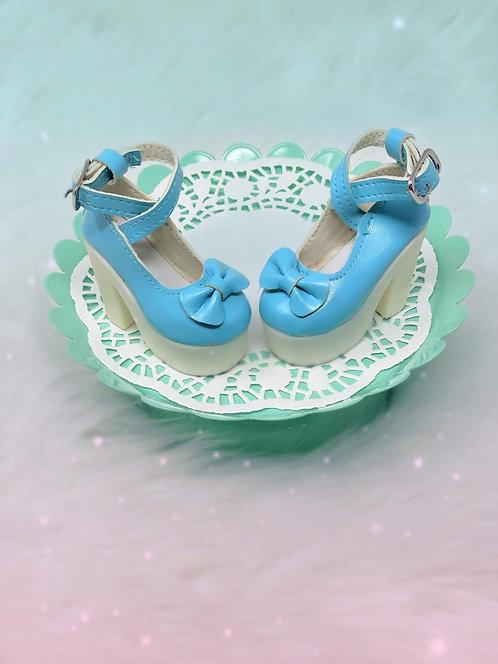 Bow Platform SmD Smart Doll BJD Heels Shoes