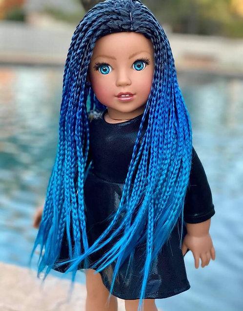 "Jada in Sapphire Blue 10"""