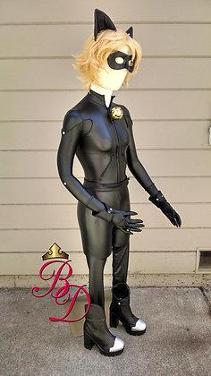 Cat Noir Vinyl Bodysuit Miraculous Ladybug