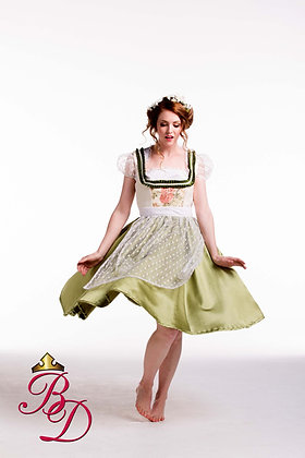 "German Dirndl  ""Oktoberfest Rose"" Costume"