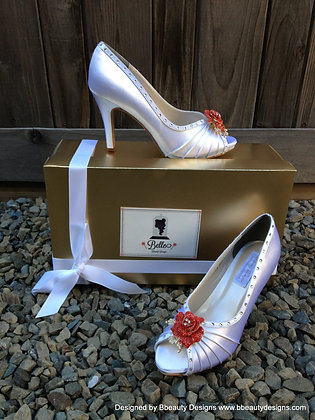 Belle Beauty and the Beast Bridal Shoes Heels