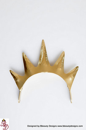 Ursula Sea Witch Metal Crown Plain