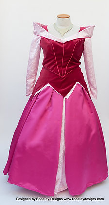 Sleeping Beauty Adult Costume Version D Plus Size