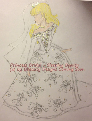 Princess Bridal Sleeping Beauty Preview