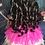 Thumbnail: 2020 Fuschia Feather Couture Inspired Replica Dress